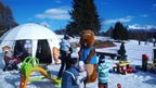 The Bibi Fun Park for children in Crans-Montana, Switzerland