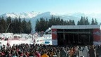 the Caprices Festival - a unique rock music festival in the Crans-Montana snow