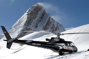 Heli-Skiing from Crans-Montana to spectacular sites in the Bernese and Valais Alps