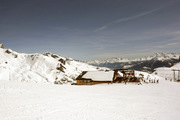 Mont Petit Bonvin - popular restaurant and mountain of the Crans-Montana snowsports region