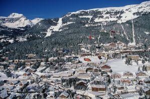 Crans montana village