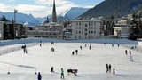 Europe's largest natural ice rink is located in Davos, Switzerland