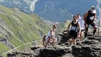 The Inferno Triathlon  -  athletes run to the top of the Schilthorn mountain !