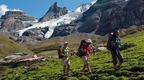 The Muerren - Jungfrau region offers many options for (guided) mountain tours