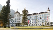 The 5-star Kempinski Grand Hotel and Spa in St. Moritz, Switzerland