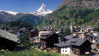 Zermatt with the world-famous Matterhorn