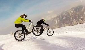Verbier, Switzerland attracts Mountain Bikers during summer and winter months