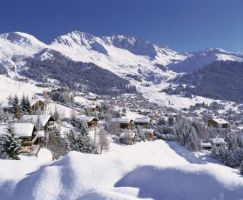 Verbier, the famous mountain resort in the Valais Alps is especially popular among off-piste skiers and snowboarders
