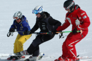 Snowsports Schools in Wengen offer private and group lessons for kids and adults.