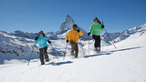 Snowshoe-Trekking in the Zermatt - Matterhorn region